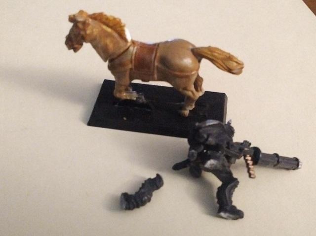 Get back up that horse.  Walk it off.  Er … ride it off!